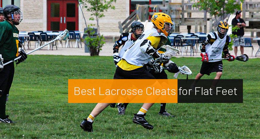Best Lacrosse Cleats for Flat Feet