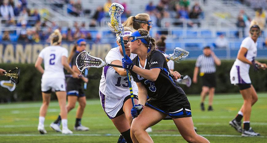 women lacrosse head
