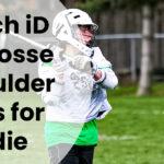 Epoch iD Lacrosse Shoulder Pads for Middie